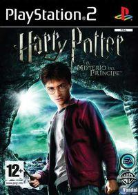 Portada oficial de Harry Potter and the Half-Blood Prince para PS2