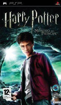 Portada oficial de Harry Potter and the Half-Blood Prince para PSP