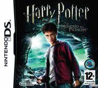 Portada oficial de Harry Potter and the Half-Blood Prince para NDS