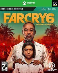 Portada oficial de Far Cry 6 para Xbox Series X/S