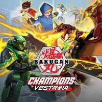 Portada oficial de Bakugan: Champions of Vestroia para Switch