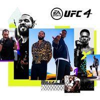Portada oficial de UFC 4 para PS4