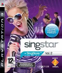 Portada oficial de SingStar Volume 2 para PS3
