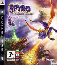 Portada oficial de Legend of Spyro: Dawn of the Dragon para PS3