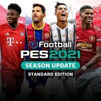 Portada oficial de eFootball PES 2021 Season Update para PS4