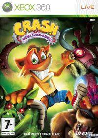 Portada oficial de Crash Guerra al coco-maniaco para Xbox 360