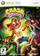 Portada oficial de de Crash Guerra al coco-maniaco para Xbox 360