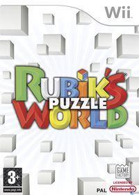 Portada oficial de Rubik's World para Wii