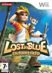 Portada oficial de Lost in Blue: Shipwrecked! para Wii