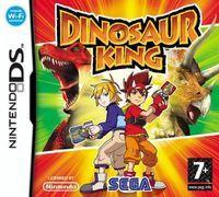Portada oficial de Dinosaur King para NDS