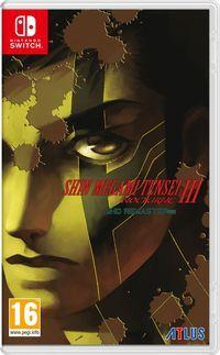 Portada oficial de Shin Megami Tensei III: Nocturne HD Remaster para Switch