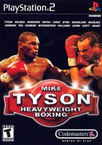 Portada oficial de Mike Tyson Heavyweight Boxing para PS2