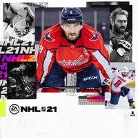 Portada oficial de NHL 21 para PS4