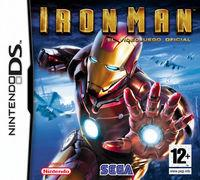 Portada oficial de Iron Man para NDS