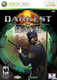 Portada oficial de Darkest of Days para Xbox 360