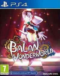 Portada oficial de Balan Wonderworld para PS4