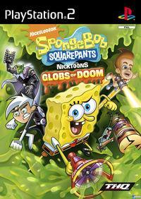 Portada oficial de SpongeBob SquarePants featuring Nicktoons: Globs of Doom para PS2