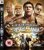 Portada oficial de de Legends of Wrestlemania para PS3