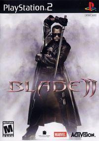 Portada oficial de Blade 2 para PS2