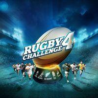 Portada oficial de Rugby Challenge 4 para PS4