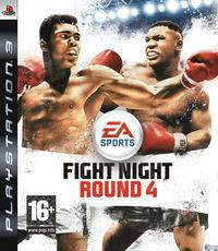 Portada oficial de Fight Night Round 4 para PS3