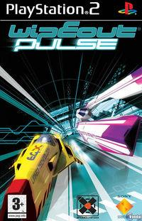 Portada oficial de Wipeout Pulse para PS2