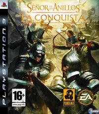 Portada oficial de El Señor de los Anillos: La Conquista para PS3