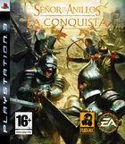 Portada oficial de de El Señor de los Anillos: La Conquista para PS3