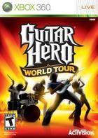 Portada oficial de de Guitar Hero World Tour para Xbox 360