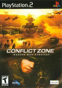 Portada oficial de Conflict Zone para PS2