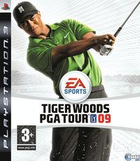 Portada oficial de Tiger Woods PGA TOUR 09 para PS3