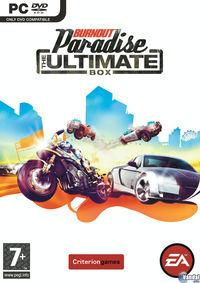Portada oficial de Burnout Paradise: The Ultimate Box para PC