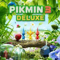 Portada oficial de Pikmin 3 Deluxe para Switch
