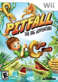 Portada oficial de Pitfall: The Big Adventure para Wii