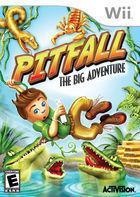 Portada oficial de de Pitfall: The Big Adventure para Wii