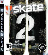 Portada oficial de Skate 2 para PS3