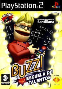Portada oficial de Buzz! Escuela de Talentos para PS2