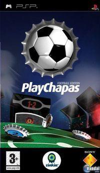 Portada oficial de PlayChapas Football Edition para PSP