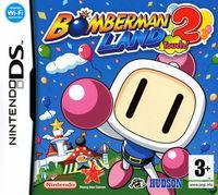 Portada oficial de Bomberman Land Touch! 2 para NDS