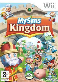 Portada oficial de MySims Kingdom para Wii