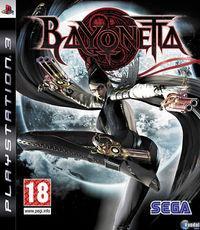 Portada oficial de Bayonetta para PS3