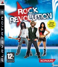 Portada oficial de Rock Revolution para PS3