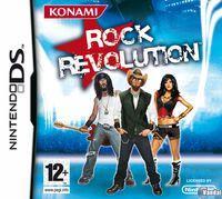 Portada oficial de Rock Revolution para NDS