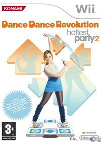 Portada oficial de Dance Dance Revolution Hottest Party 2 para Wii
