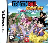 Portada oficial de Dragon Ball Origins para NDS