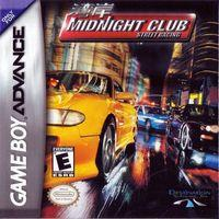 Portada oficial de Midnight Club Street Racing para Game Boy Advance