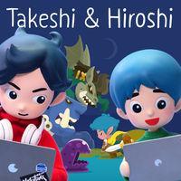 Portada oficial de Takeshi y Hiroshi para Switch
