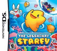 Portada oficial de Legend of Starfy para NDS