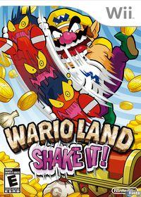 Portada oficial de Wario Land: The Shake Dimension para Wii