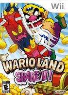 Portada oficial de de Wario Land: The Shake Dimension para Wii